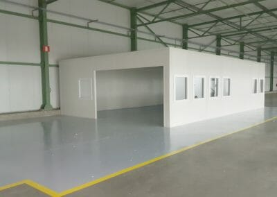 Dispack projects NV Cleanroom Antwerpen