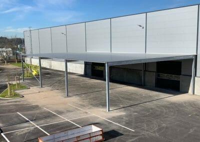 Gaggenau de Seifert Logistics Group Afdak
