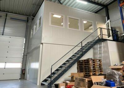 Eurotackle Belfeld kantoorunit magazijnunit